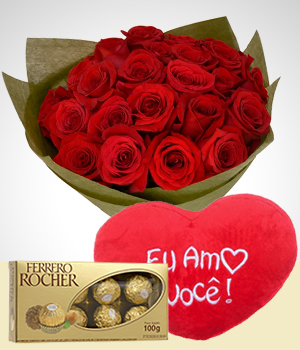 Chocolates - Combo Carta de Amor